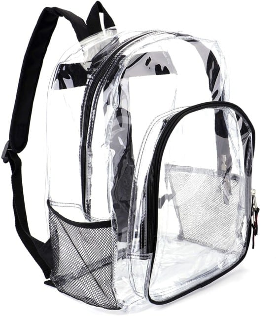 JOMPARO Heavy-duty Clear Backpack