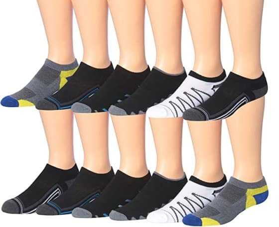 Jame Fiallo Low-Cut Sport Socks - Ventilation Design