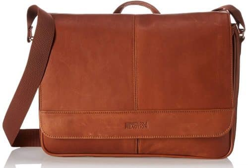 Kenneth Cole Messenger Bag with Tear-Resistant Lining