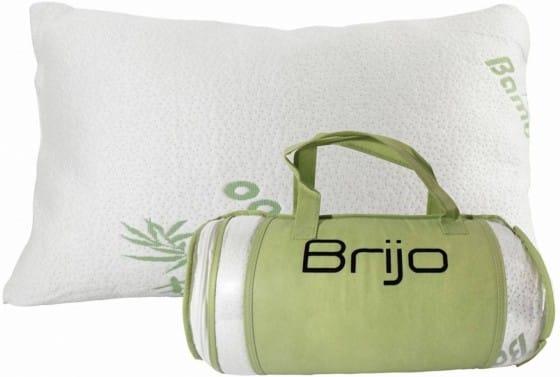 Brijo Bamboo Shredded Memory Foam Pillow