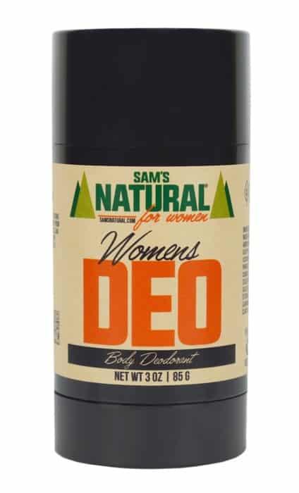Aluminum-free Sam's Natural Deodorant