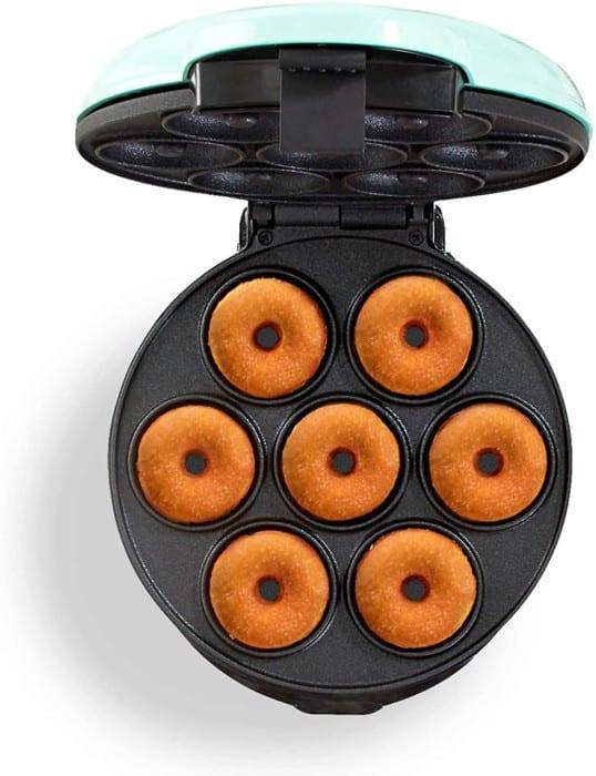 Dash DDM007 Mini Donut Maker Machine with Non-Stick Surface