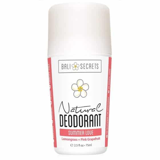 Natural Deodorant from Bali Secret, Organic and Vegan
