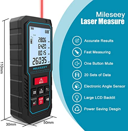 MiLESEEY Laser Measure, 229ft